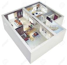 Home Design Plan View Home Design 4 Pictures Of 3d Apartment Design 25 More 2