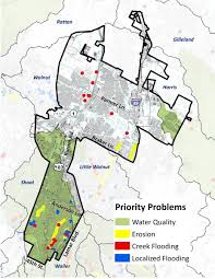 City Of Austin Map by District 7 Watershed Profile Watershed Protection Austintexas