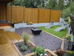 impressive decking designs for small gardens decking design ideas