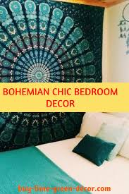 bohemian chic bedroom decor style color and style