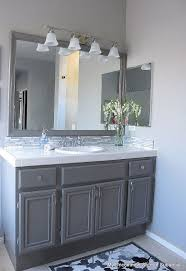 How To Paint Bathroom Cabinets Ideas Update Your Bathroom Cabinets With Paint Hometalk