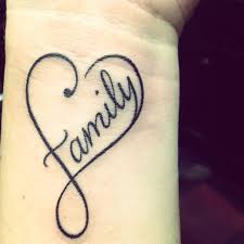 family heart tattoo tattoos pinterest tattoo infinity