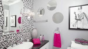 dorm bathroom decorating ideas lovely stunning decor of girls bathroom ideas with polkadot