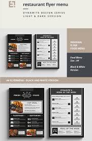 restaurant menu restaurant menu flyer 27 restaurant menu
