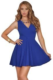 necklace collar dress images Sexy deep v neck with detachable statement necklace flowy a line gif