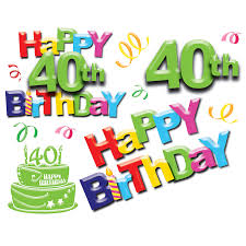 40th birthday wishes for for cool wish