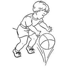 20 free printable basketball coloring pages