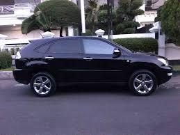 lexus rx dijual bekas jual toyota harrier 2 4 l premium 2008 hitam bagus