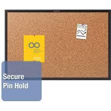 Pin Board Mead Cork Bulletin Board 48 X 36 Oak Frame Walmart Com