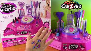 cra z art shimmer u0027n sparkle designer nail u0026 tattoo studio diy