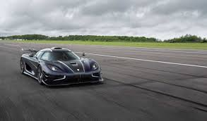 koenigsegg pagani koenigsegg one 1 breaks three records in one day