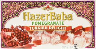 amazon com hazer baba cherry berry turkish delight 250g nut
