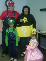 family costumes super mario brothers halloween costumes and