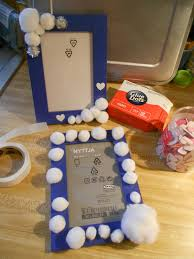 crafting with little kids decorative frames