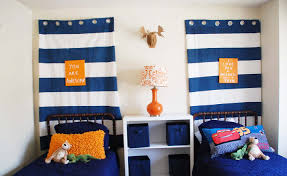 soft modern blue little boy room design with great and awsome