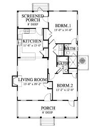 beaufort river cottage 163170 house plan 163170 design from elevation