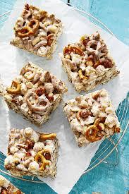 best cracker jack and pretzel treats recipe how to make cracker
