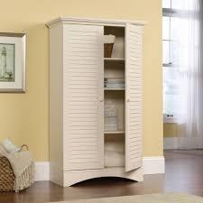 storage cabinet home kitchen pantry solid wood organizer antiqued