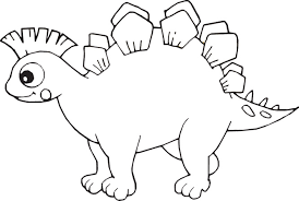 dinosaur coloring pages project awesome simple dinosaur coloring