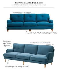 look for less english roll arm sofa making it lovely