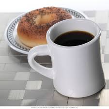 diner coffee mug heavy duty white ceramic restaurant quality