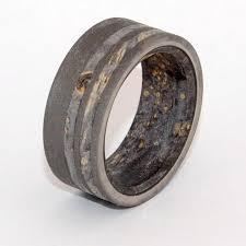 onyx wedding band minter richter titanium rings unique wedding rings minter