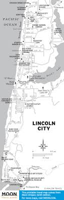 lincoln city map oregon s pacific coast route exploring lincoln city road trip usa
