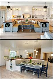 great kitchen islands a kitchen island with built in seating is a great option if you