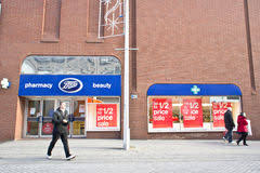 boots sale uk chemist boots uk limited chemist store editorial stock photo image