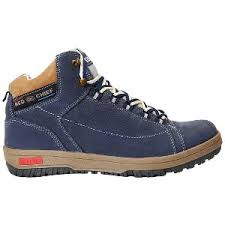 s leather boots shopping india chief s leather boots blue from chief footwear