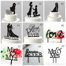 wedding cake toppers letters 29 unique letter wedding cake toppers wedding idea