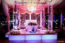 wedding planners nj fern n decor indian wedding decorator nj mandap stage decor
