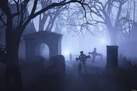 spooky cemetery clipart baron h classically educated
