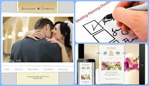free wedding websites with design a free wedding website with app and check list