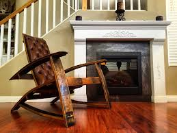 Wine Barrel Rocking Chair Plans Great Selections Of Wine Barrel Bar Stools Med Art Home Design