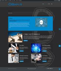 design contest wordpress theme entry 6 by dacsa72 for brevir wordpress theme design contest