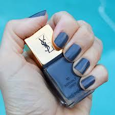 ysl asphalt grey nail polish spring 2017 review bay area fashionista