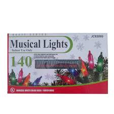musical christmas lights ebay