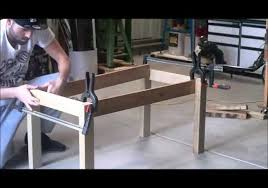 Woodworking Making A Coffee Table by S U0026scustoms Woodwork Build A Coffee Table Using Scrap Wood Part 1