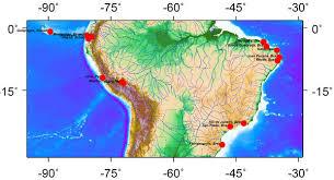 america climate map lima peru mappery