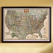 map of the united state us wall maps laminated us map posters national geographic store