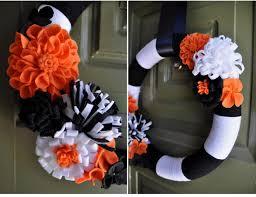 halloween flowers diy halloween wreath handmade grace