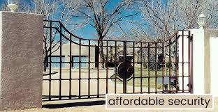 wrought iron driveway gates and fence automatic gate opener