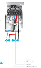 nest heat link control wiring to ideal logic plus 30 boiler