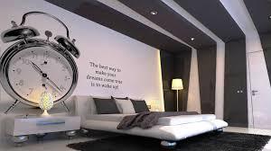 captivating bedroom decorating ideas with unique silver alarm