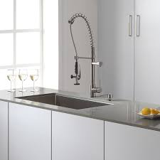 Kitchen Faucets And Sinks by Kraus Khu100 32 Kpf1602 Ksd30ss 32