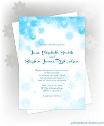 free pdf download snowflakes winter invitation for winter