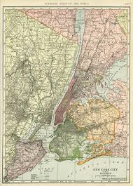 Map Of Old New York by Maps Old Design Shop Blog