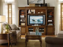 hooker furniture windward entertainment console with raffia door