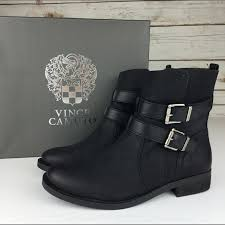 motorcycle booties 50 off vince camuto shoes pierson moto booties biker edgy new